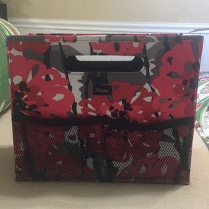 Thirty one collapsible file holder